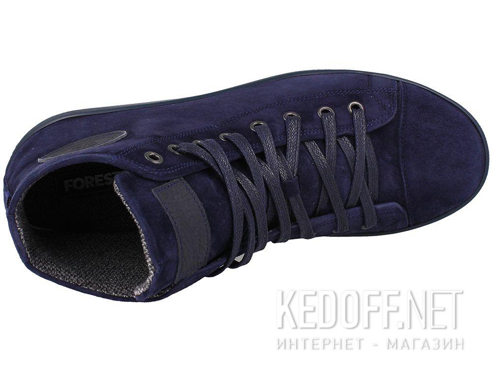 Мужские  кеды Forester Navy Nubuk 132125-891 купить Киев