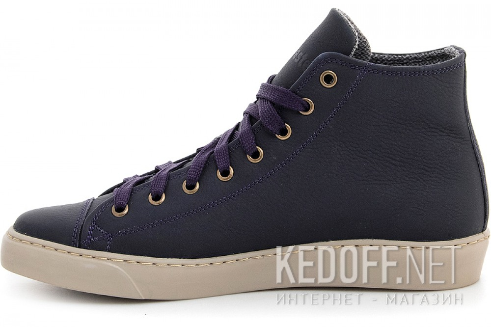 Delivery Leather shoes Forester 132125-891MB unisex (Dark blue)