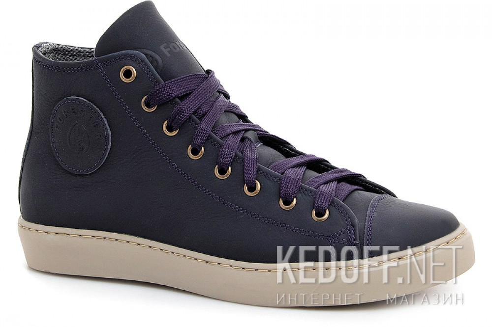Add to cart Leather shoes Forester 132125-891MB unisex (Dark blue)