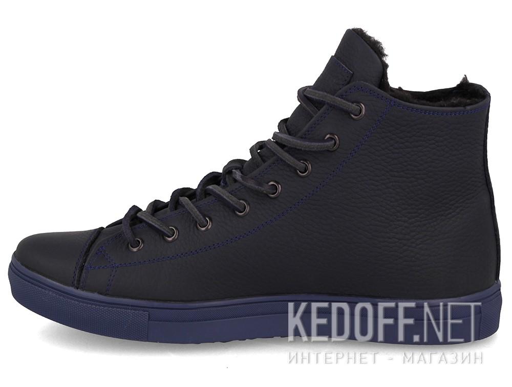 Мужские кеды Forester Whool Navy 132125-8984   (тёмно-синий) купить Украина