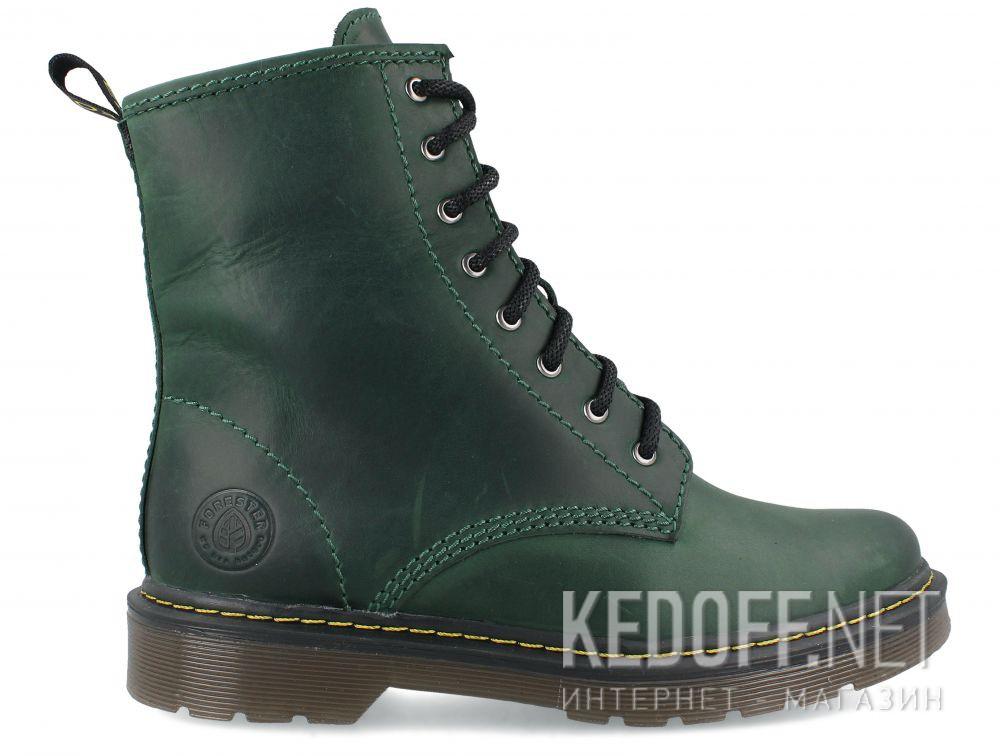 Ботинки Forester Urban Lack 1460-22 Green купить Украина