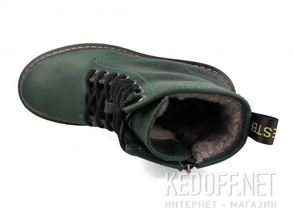 Ботинки Forester Urban Lack 1460-22 Green описание