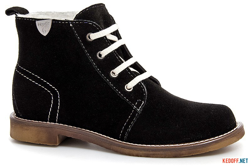 Зимові черевички Forester 156102 на натуральному хутрі
