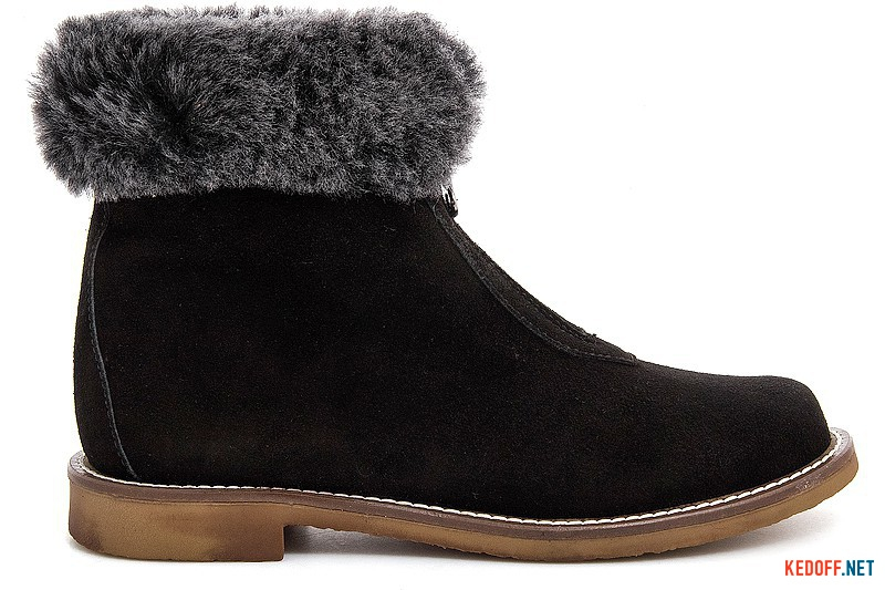 Winter boots Forester 156108-901 Black suede