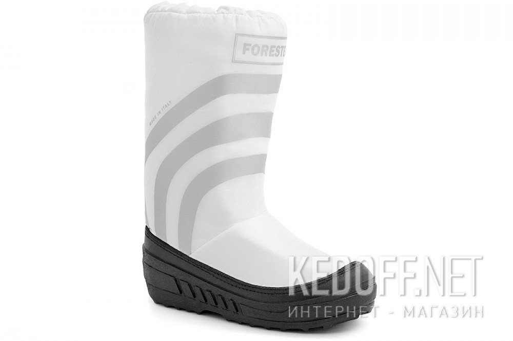 Дутики Forester Winter Puff Forester 23254-13Sb Made in Italy Білі