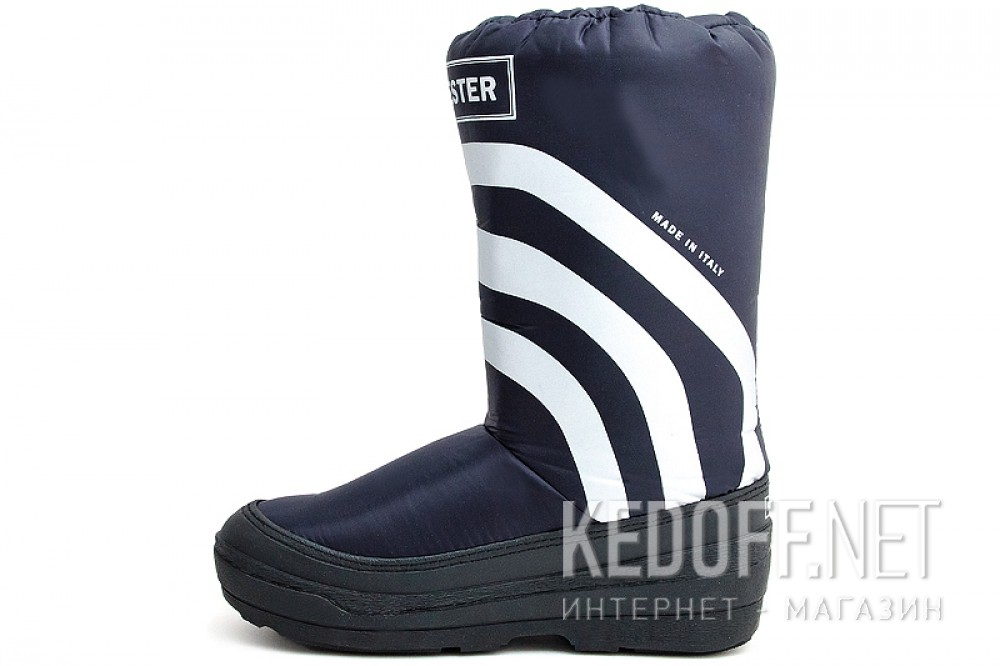 Snow boots Forester Winter Puff 23254-89SB Made in Italy Dark Blue