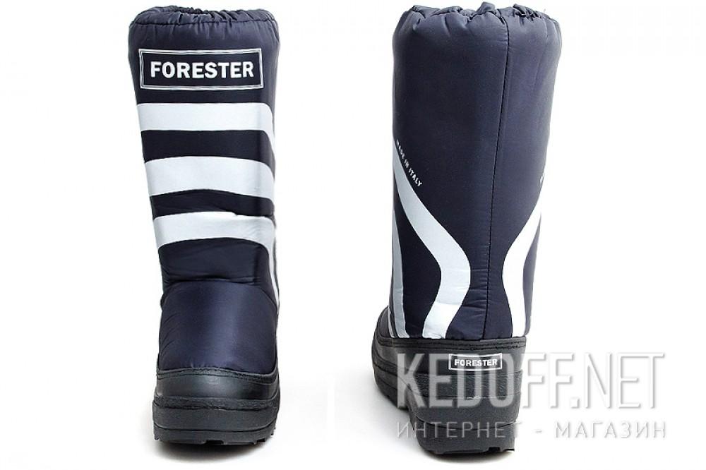 Зимові чоботи Forester Winter Puff 23254-89SB Темносині