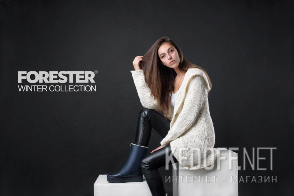 Women's boots Forester 24220-89 dark blue