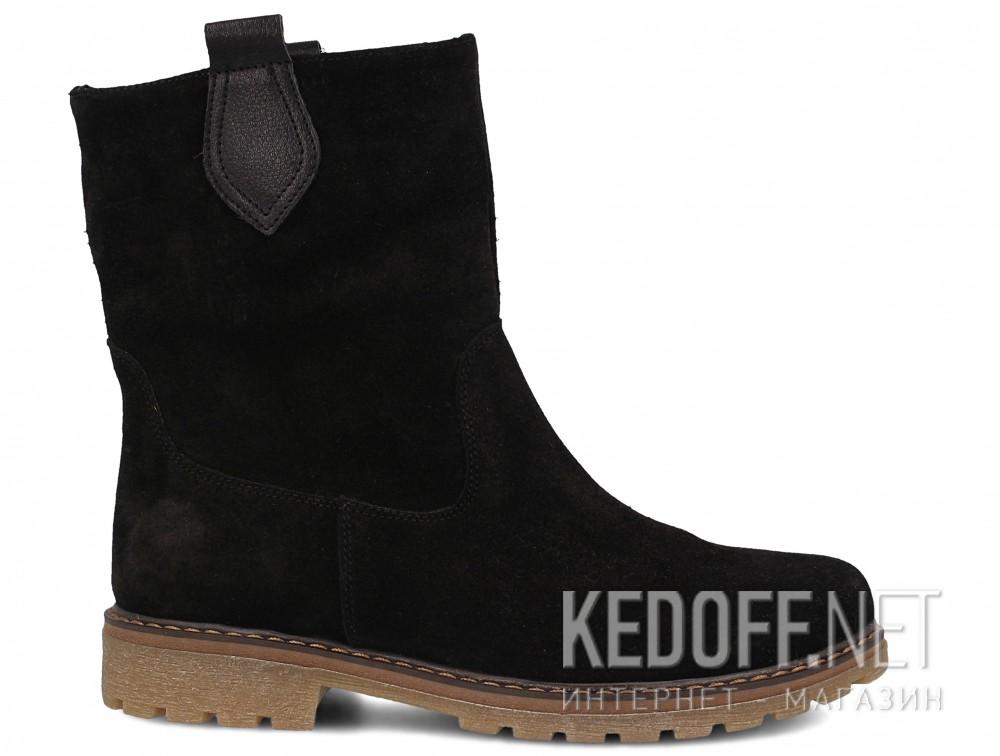 Женские ботинки Forester 3057-27    (чёрный) купить Украина