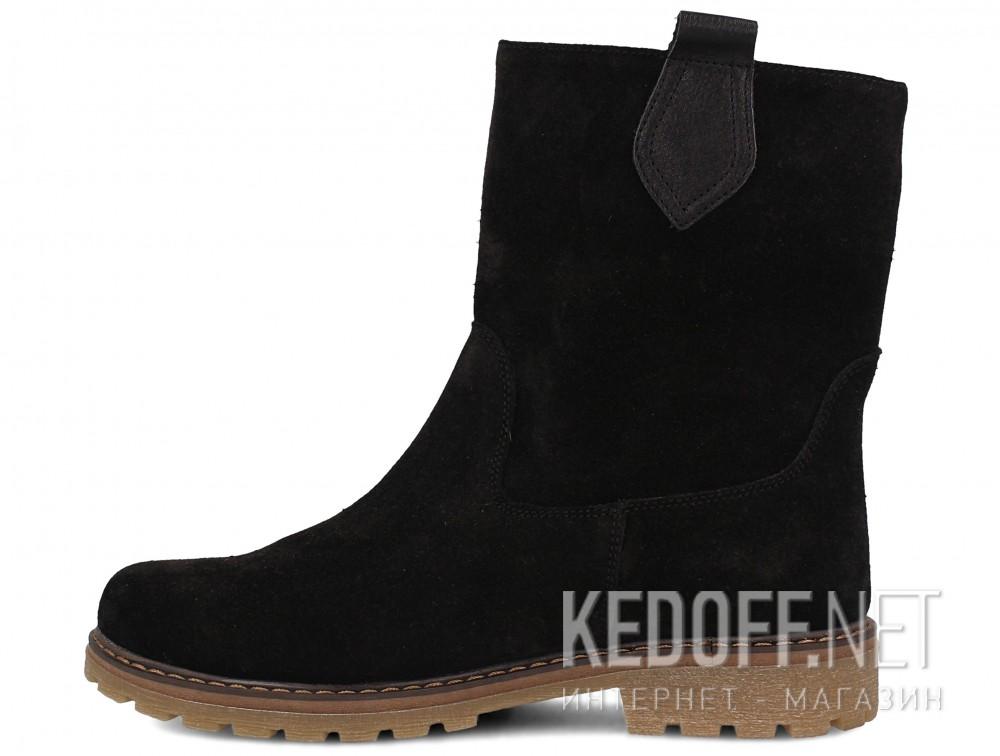 Женские ботинки Forester 3057-27    (чёрный) купить Киев