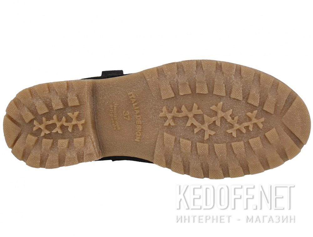 Женские ботинки Forester 3057-27    (чёрный) описание