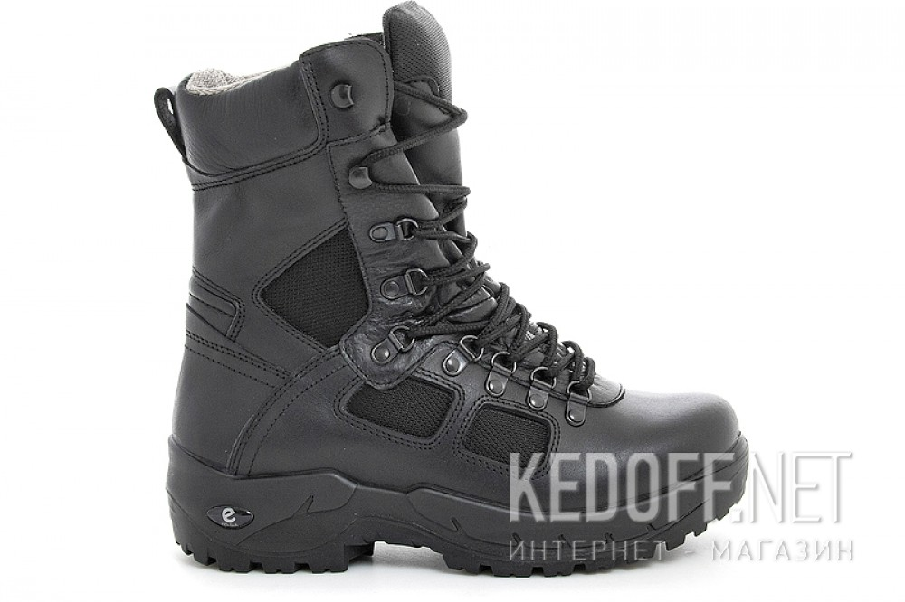 Forester Waterproof boots 35049-E41 Black leather