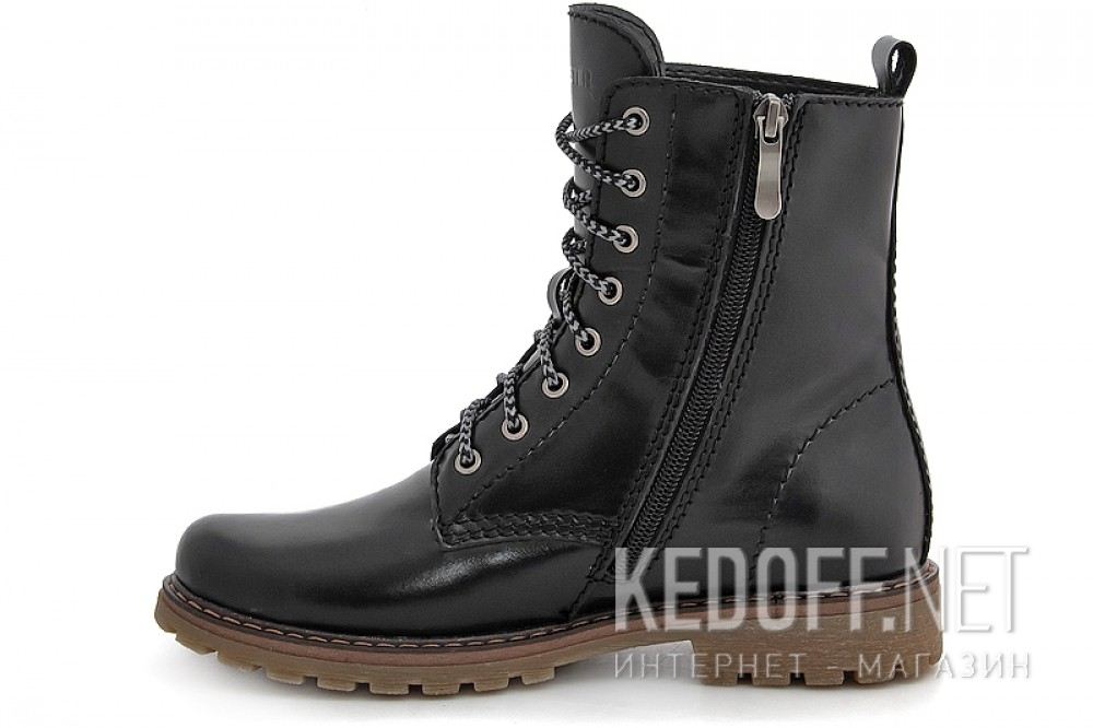 Insulated boots Forester 35501-27 Black Leather