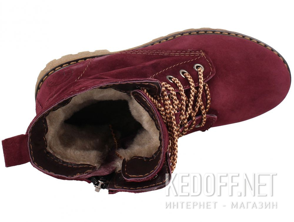 Ботиночки Forester Marsala 3558-24 описание