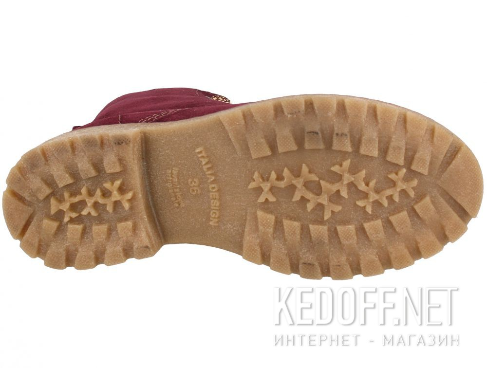Цены на Ботиночки Forester Marsala 3558-24