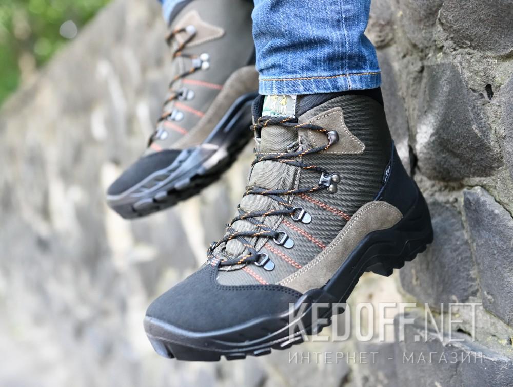 Цены на Ботинки Forester Tex 3604-193 унисекс   (хаки/чёрный)