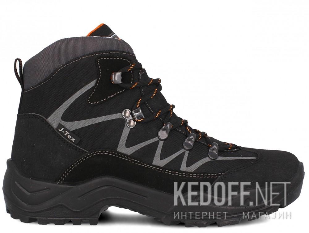 Мужские ботинки Forester 3696-V32   (чёрный) купить Украина