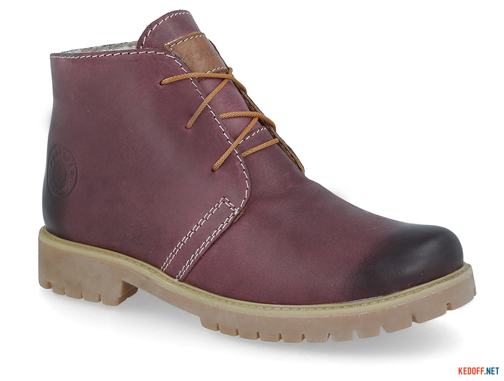Shoes Forester Marsala Crazy3983-48 fur