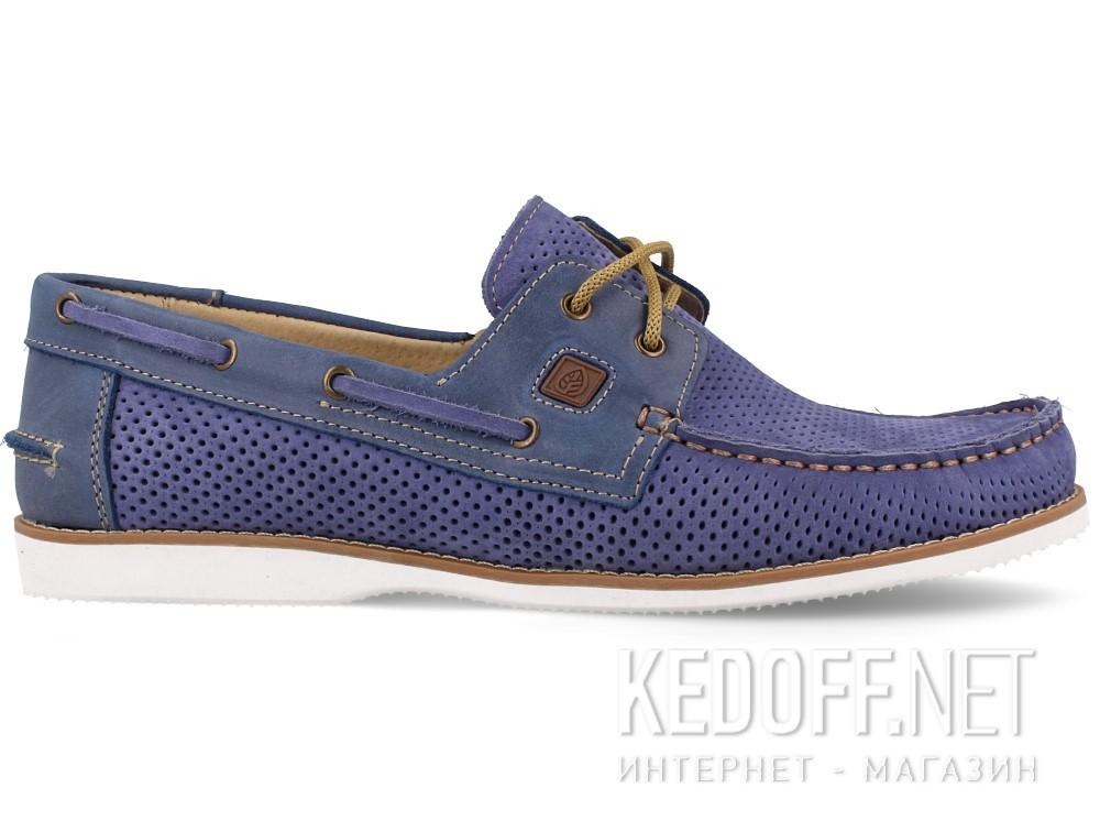 Мужские топсайдеры Forester Perforation 4012-40   (голубой) купить Украина