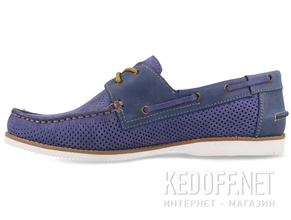 Мужские топсайдеры Forester Perforation 4012-40   (голубой) купить Киев