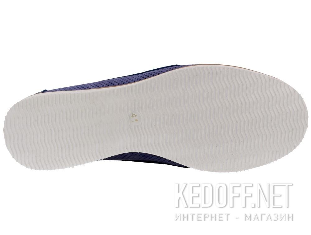 Оригинальные Мужские топсайдеры Forester Perforation 4012-40   (голубой)