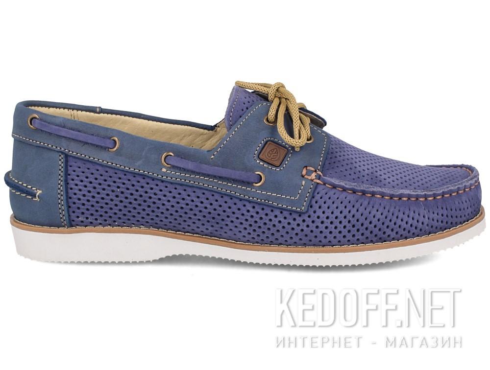 Мужские топсайдеры Forester 4012-4042   (синий) купить Украина