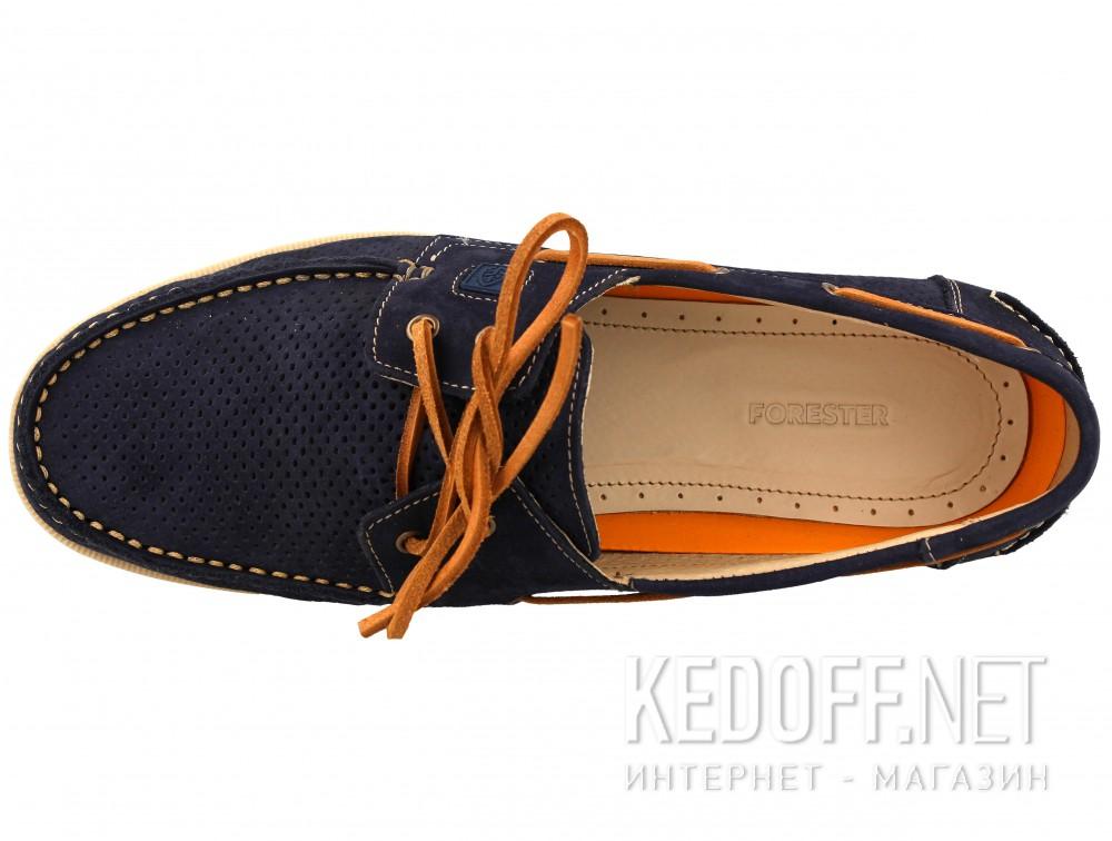 Мужские топсайдеры Forester 4014-89   (тёмно-синий) купить Киев