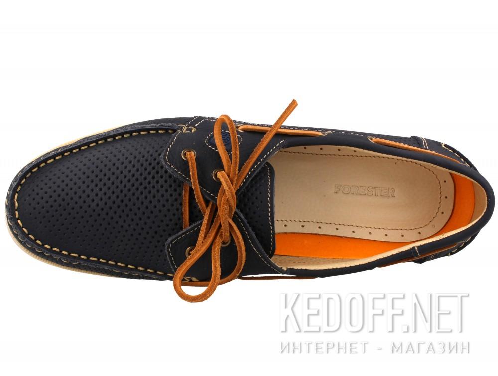 Мужские топсайдеры Forester 4055-89   (тёмно-синий) купить Киев