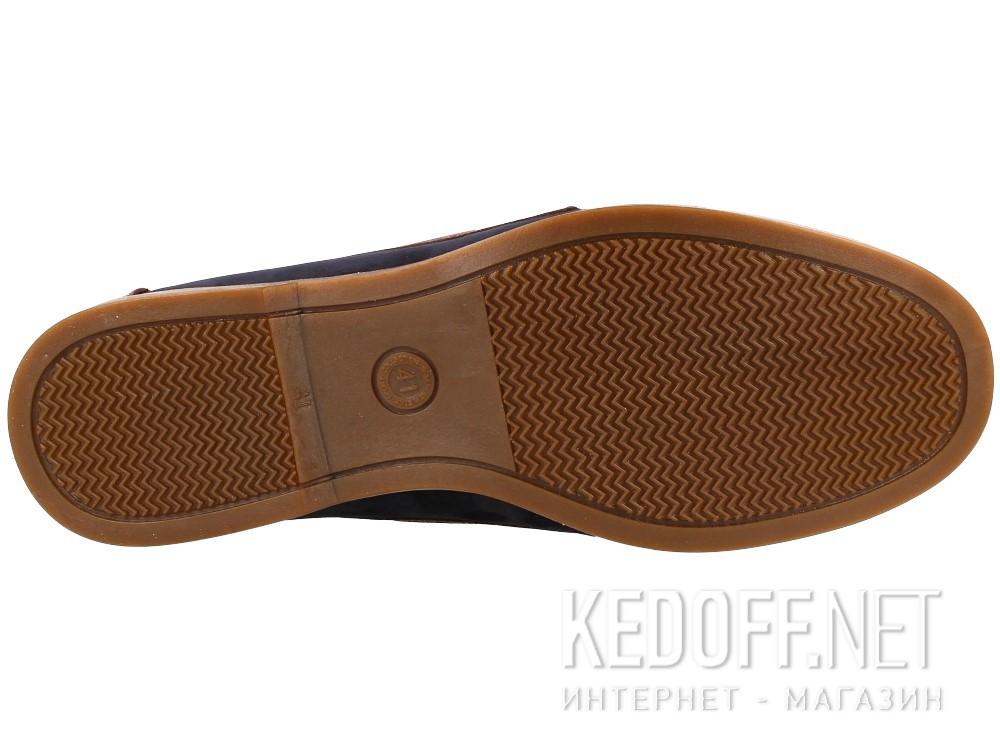 Топсайдеры Forester 4075-4589 унисекс   (тёмно-синий/коричневый)