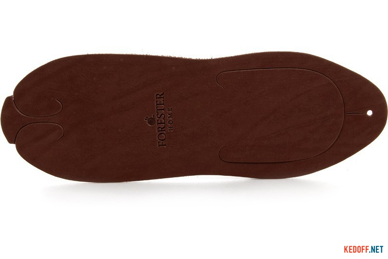 Leather Slippers Forester Home 4172-4