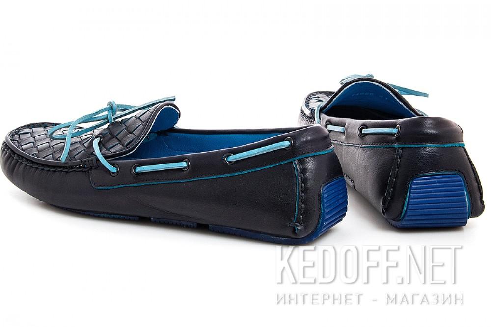 Мужские мокасины Forester 4650-89   (тёмно-синий) купить Украина