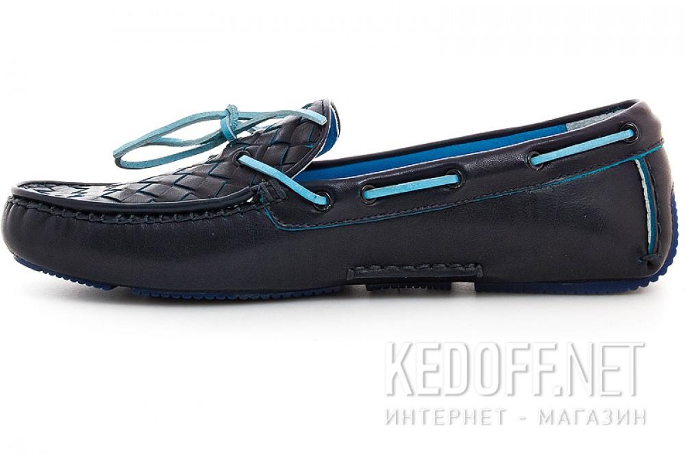 Мужские мокасины Forester 4650-89   (тёмно-синий) купить Киев