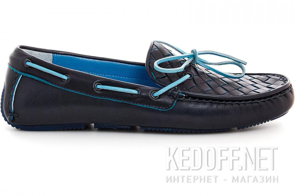 Оригинальные Мужские мокасины Forester 4650-89   (тёмно-синий)