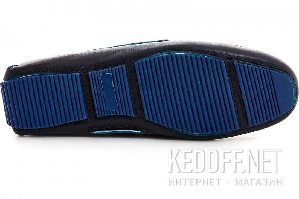 Мужские мокасины Forester 4650-89   (тёмно-синий) описание