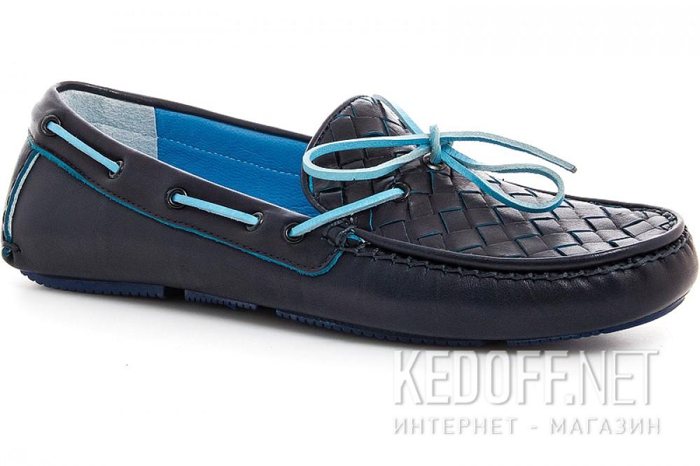 Купить Мужские мокасины Forester 4650-89   (тёмно-синий)