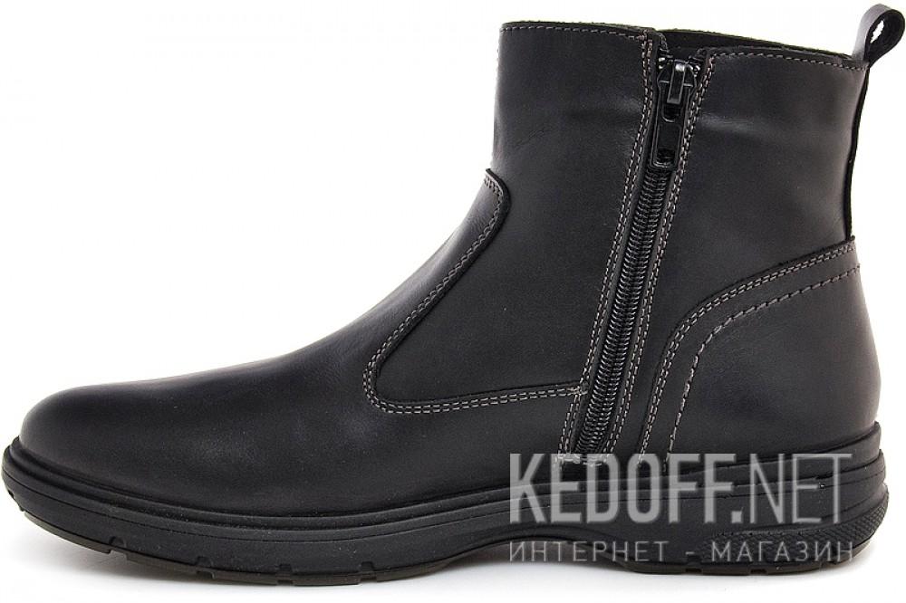 Мужские ботинки Forester 4837-V5   (чёрный) купить Украина