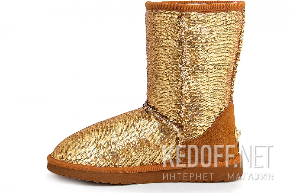 Sheepskin Boots Forester 5005-611 Golden