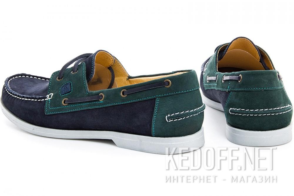 Топсайдеры Forester 5037-22   (тёмно-синий/зеленый) купить Украина