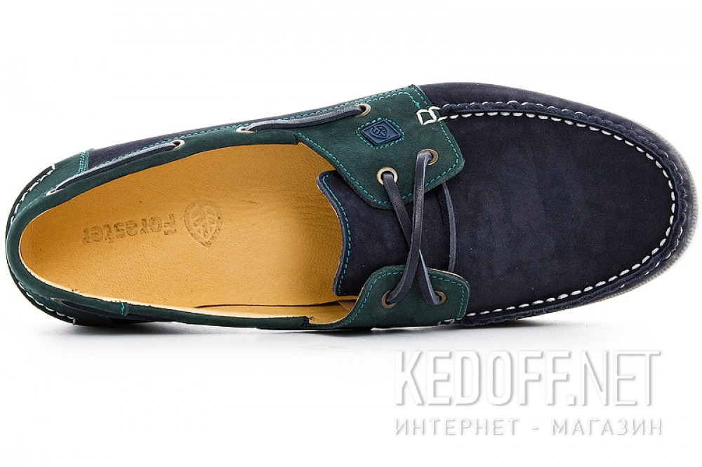 The Forester 5037-22 shoes (Navy/green) описание