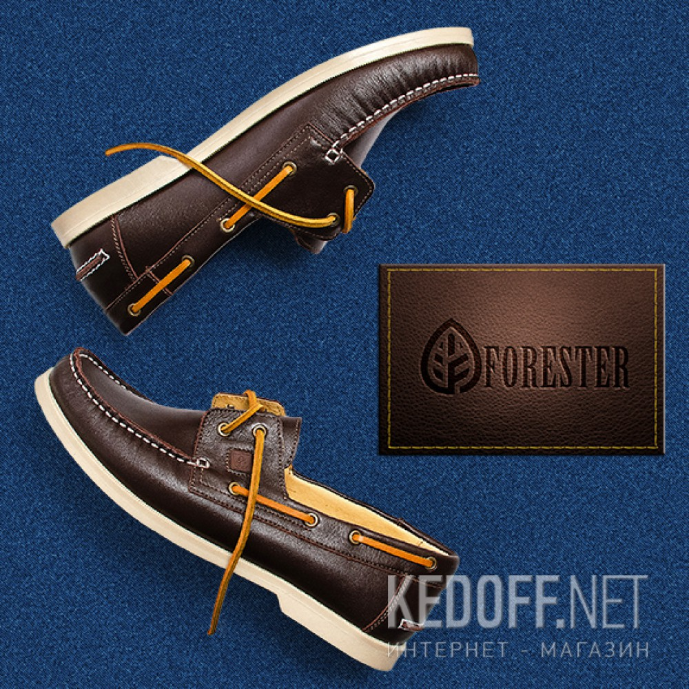 Male topsider Forester Original Western Horse 5037-45 chocolate