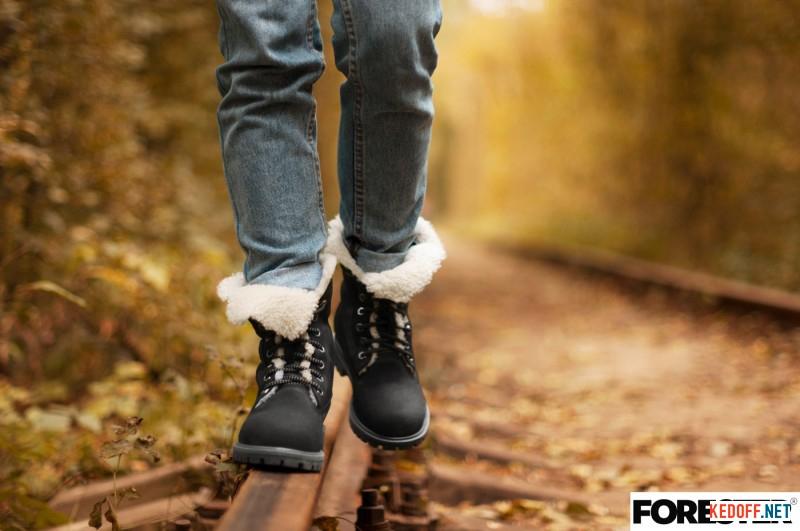 Зимові черевики на хутрі Forester 50919-223005