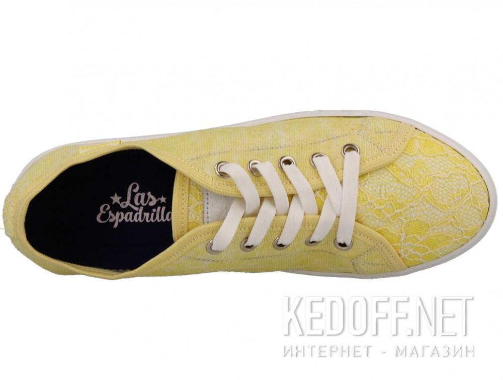 Кеды Las Espadrillas 5099-21 (жёлтый) описание