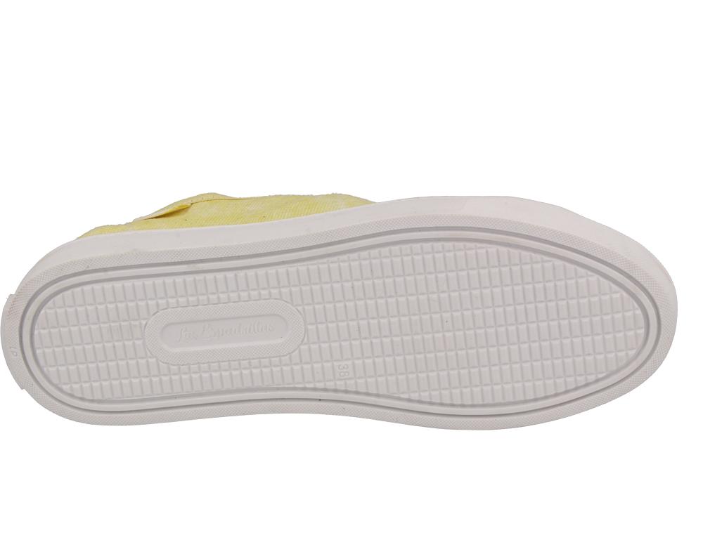 Цены на Кеды Las Espadrillas 5099-21 (жёлтый)