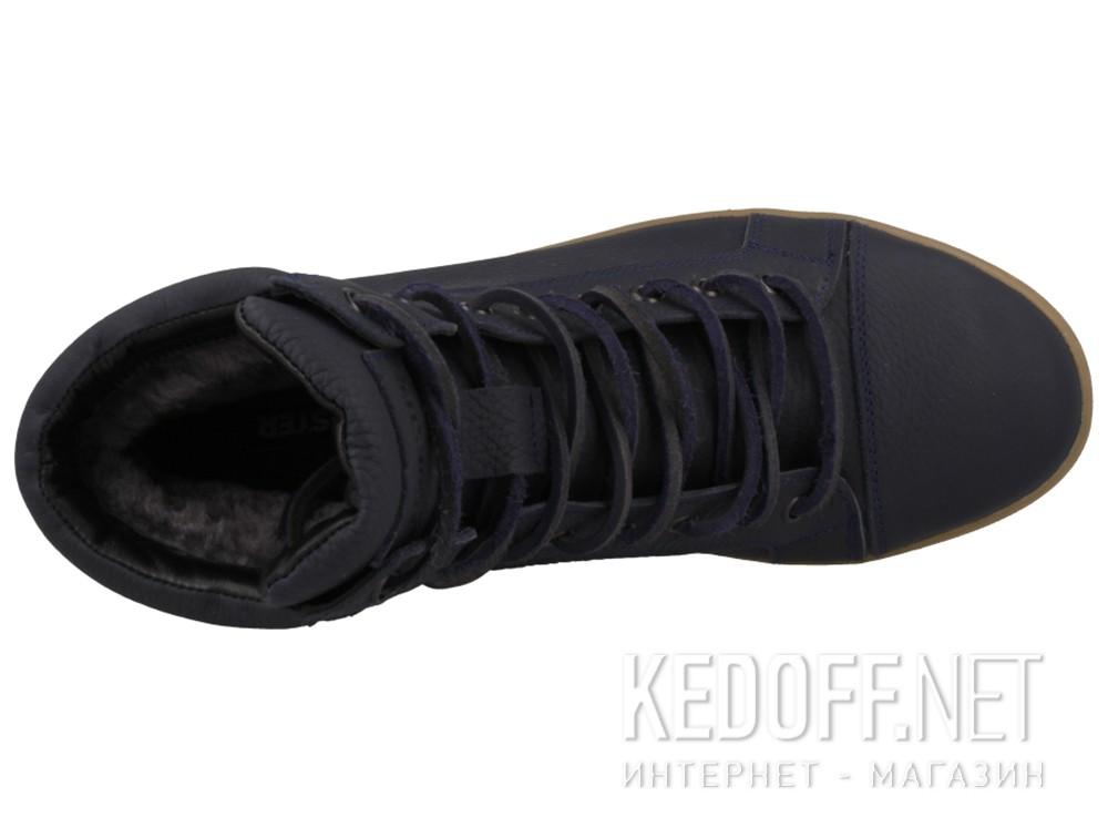 Мужские зимние кеды Forester 5543-89   (тёмно-синий) купить Киев