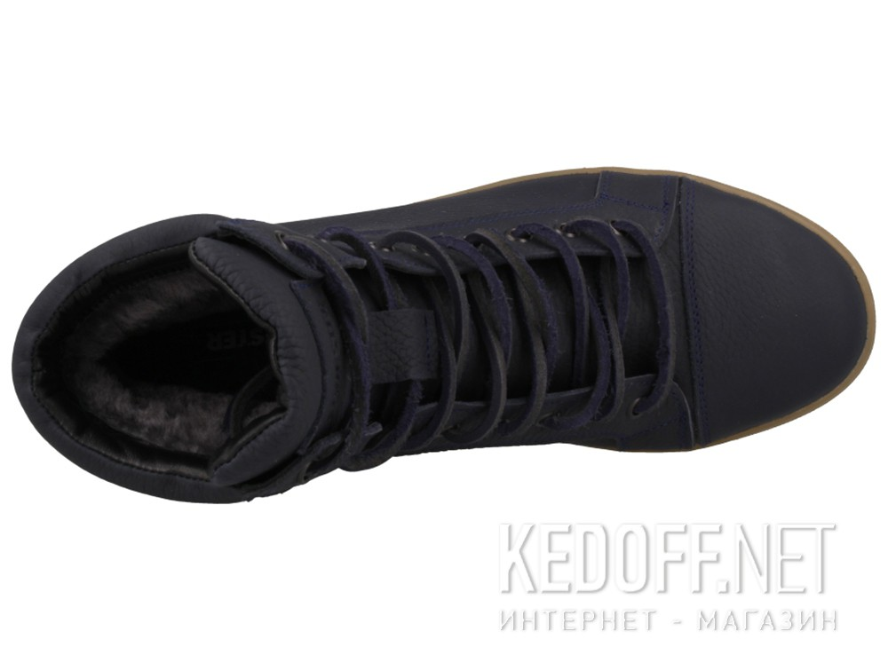 Winter sneakers Forester 5543-89 Sneaker Dark blue, Genuine leather,Fur