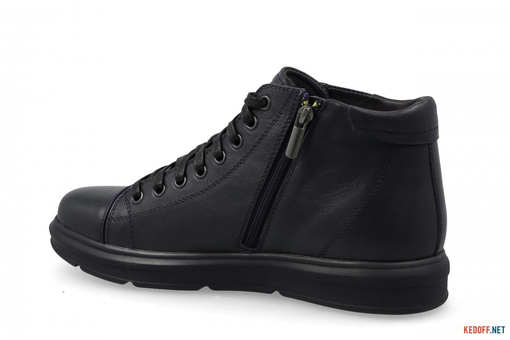 Чоловічі черевики Forester Komfort 5778-105 Чорна шкіра