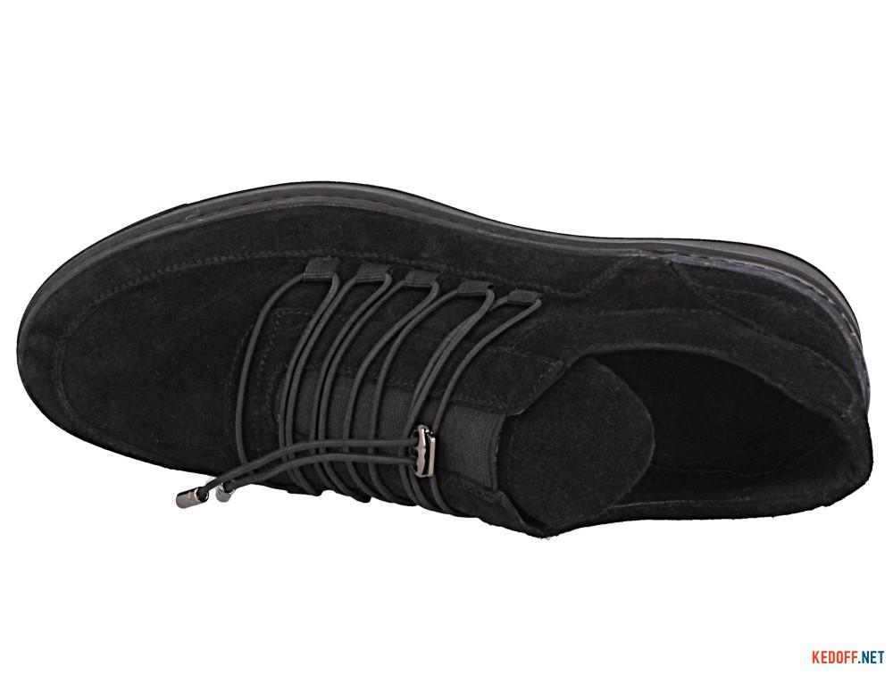 Мужские полуботинки Forester 6084-27   (чёрный)