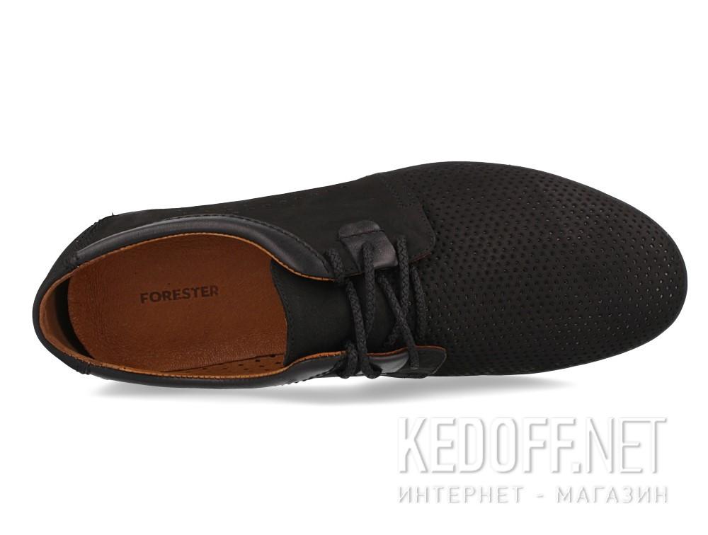 Оригинальные Мужские туфли Forester 701-02   (чёрный)
