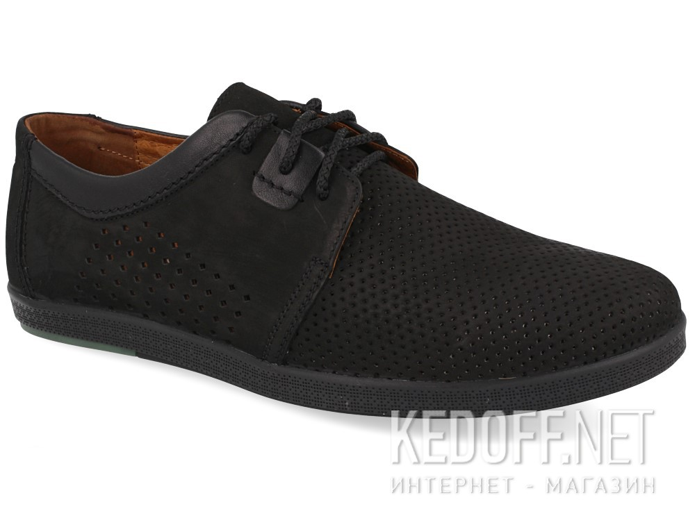 Купить Мужские туфли Forester 701-02   (чёрный)