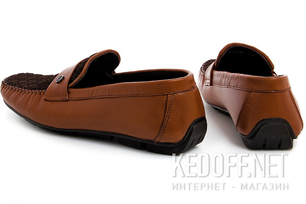 Loafers Forester 7068-45 Chestnut Leather | Brown Suede